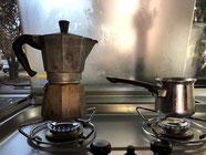 Frühstück mit Cappuccino