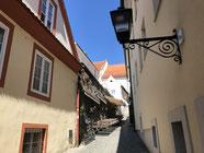 überall kleine Gassen in Maribor