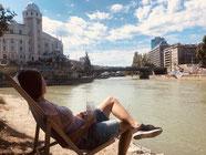 Relax am Donau-Kanal
