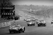 Aston Martin Le Mans Rennen Rennsiege Sterling Moss