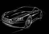 Aston Martin Hendrik Fisker V8 Vantage Design