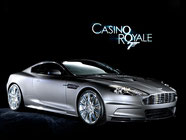 Aston Martin DBS 007 James Bond 007 Casino Royale