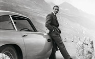 Sean Connery 007 James Bond Goldfinger DB5