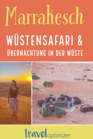 Wüstenübernachtung in Marokko - die ultimative Wüstesafari