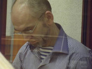 Л.В. Хабаров в зале суда