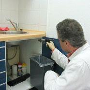 Schabenbekämpung im Köder-Gel-Verfahren