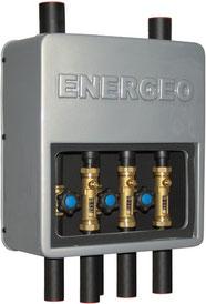 cassetta di distribuzione REGA UNIVERS - geotermia di Solar hoch 2