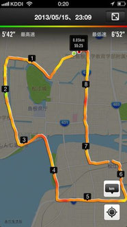 20130516-ジョギングコース松江