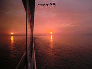 Der doppelte Sonnenaufgang auf der Donau