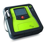 Zoll AED Pro umschaltbar auf manuellen Modus mit Sprachaufzeichnung