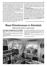 Eröffnung Heiamtstube Achenbach am 30.6.2018
