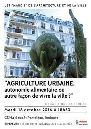 Débat agriculture urbaine CCHa