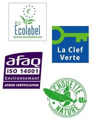 Ecolabel Européen Ethic Etapes Val de Loire