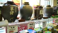 かめ入焼酎のはかり売りやってます。
