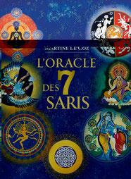 L'oracle des 7 saris , Pierres de Lumière, tarots, lithothérpie, bien-être, ésotérisme
