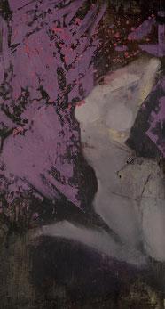 我在哪?WHERE AM I? 175X93CM  布面油画  OIL ON CANVAS  2012 (收藏于日本 COLLECTED IN JAPAN)