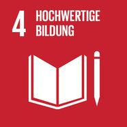 Ziel hochwertige Bildung zur Nachhaltigkeit.