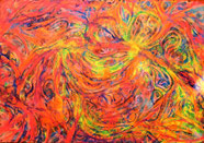 Psychedellic 3  privat- 100x70