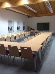 Schulungsraum wurde fertiggestellt.