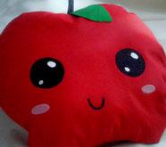 kawaii Apple Cushion