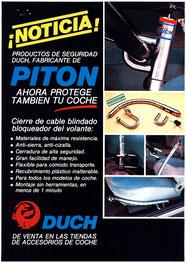 Publicidad Pitón Original Duch (Coche) - Año 1996