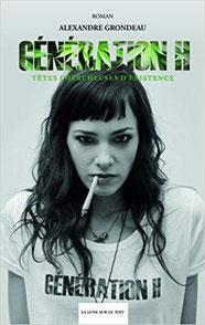 Couverture Génération H 2 Chronique littérature roman jeunesse liberté sida drogue musique rock and roll guillaume cherel