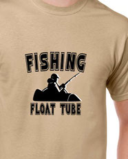 t-shirt float tube