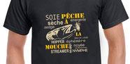 t-shirt pour les moucheurs