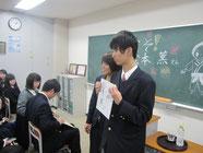 希望する生徒には2ショット写真。