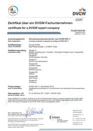 Certificate fkks English