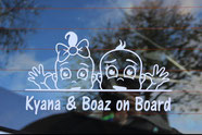 On board autostickers