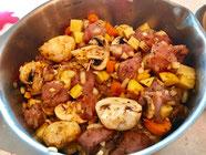 Puten Räuberfleisch in der Ofenhexe aus dem Pampered Chef Onlineshop bestellen