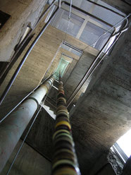 die noch namenlose, Installation Kletterturm Brühl, 2012