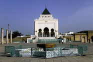 Mausoleum in Rabat.