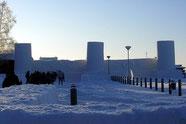 Eisschloss in Kemi