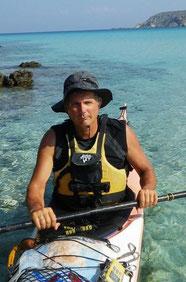 kayak de mer Frédéric GILBERT