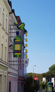 Karlovy Vary stad van de Becherovka