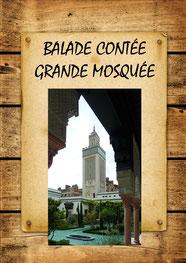 balade contée à la grande mosquée de Paris