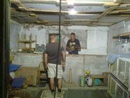 Zio Anto e zio Erminio al lavoro