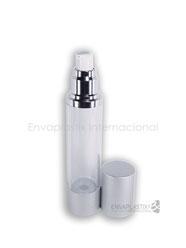 botellas airless para cosméticos, envases para cremas, botellas cosméticas