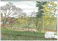 ③25/12月 横浜戸塚俣野別邸庭園 ここは旧住友家の別邸を横浜市が公園に整備し25/3月オープンしたところ。