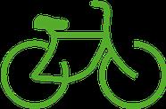Icône vélo, bicyclette