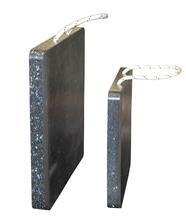 Unterlegplatten quadratisch, verschiedene Größen