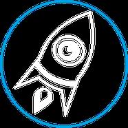 Stärke Effizienz Icon Rakete