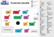 Plan des stands au Salon des Possibles