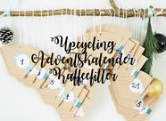 Bild: DIY Weihnachtsdeko mit Servietten schnell selber basteln