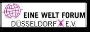 logo, eine welt forum, düsseldorf