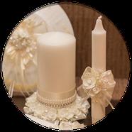 Свадебные свечи и домашние очаги