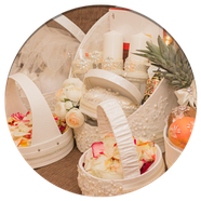 Прокат свадебных корзин