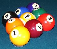 echtes 9-Ball Rack